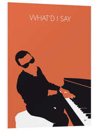 Cuadro de PVC  Ray Charles, What'd I say - chungkong
