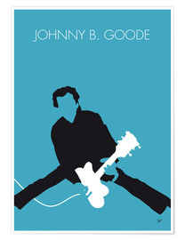 Póster  Chuck Berry - Johnny B. Goode - chungkong