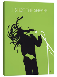 Lienzo  Bob Marley, I shot the sheriff - chungkong