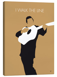 Lienzo  Johnny Cash I walk the line - chungkong