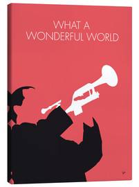 Lienzo  Louis Armstrong, What a wonderful world - chungkong