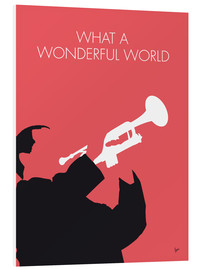 Cuadro de PVC  Louis Armstrong, What a wonderful world - chungkong