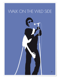 Póster Lou Reed - Walk On The Wild Side