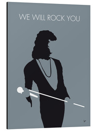 Cuadro de aluminio  Queen, We will rock you - chungkong