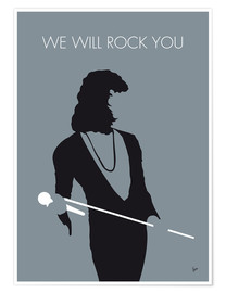 Póster Queen, We will rock you