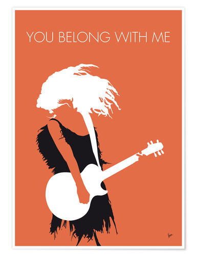 Póster Taylor Swift - You Belong With Me
