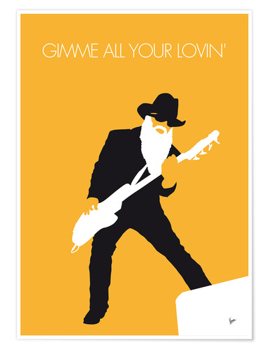 Póster ZZ Top, Gimme all your lovin'