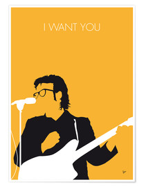 Póster Elvis Costello - I Want You