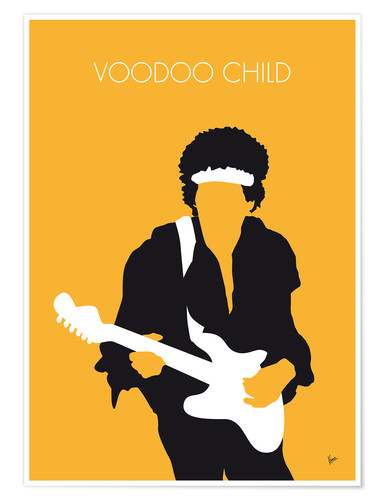 Póster Jimi Hendrix, Voodoo Child