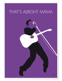 Póster Elvis, That's alright Mama