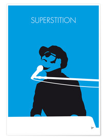 Póster Stevie Wonder, Superstition