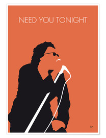 Póster INXS - Need You Tonight