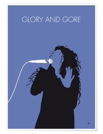 Póster Lorde - Glory and Gore