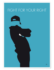 Póster Beastie Boys - Fight For Your Right
