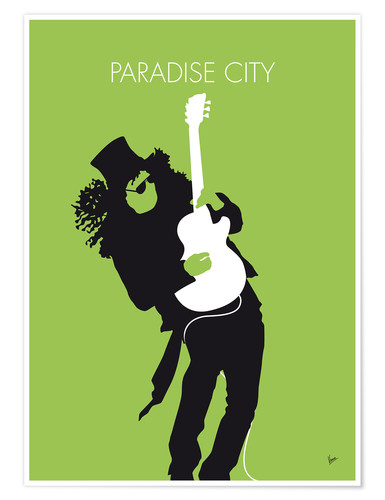 Póster Guns And Roses, Paradise City