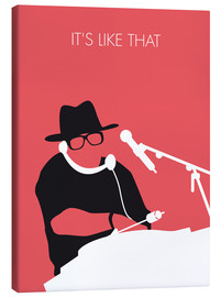 Lienzo  No022 MY RUN DMC Minimal Music poster - chungkong