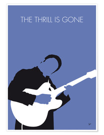 Póster  B.B. King - The Thrill Is Gone - chungkong