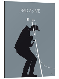 Cuadro de aluminio  Tom Waits, Bad as me - chungkong