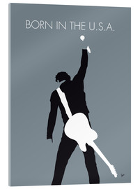 Cuadro de metacrilato  Bruce Springsteen, Born in the U.S.A. - chungkong