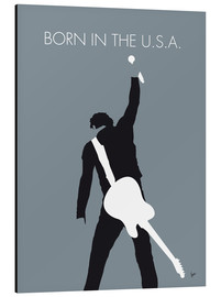 Cuadro de aluminio  Bruce Springsteen, Born in the U.S.A. - chungkong