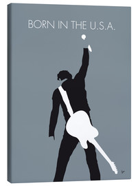 Lienzo  No017 MY Bruce Springsteen Minimal Music poster - chungkong
