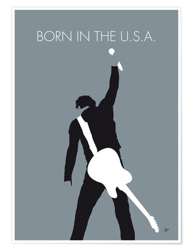 Póster Bruce Springsteen, Born in the U.S.A.