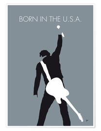 Póster  Bruce Springsteen, Born in the U.S.A. - chungkong