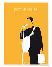 Póster My Talking Heads, Psycho Killer