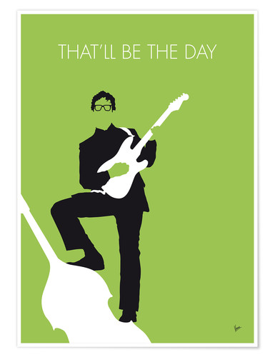 Póster Buddy Holly - That'll Be The Day