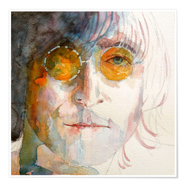 Póster  John Winston Lennon - Paul Lovering Arts