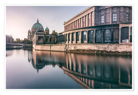 Póster Museum Island and Berliner Dom in the morning