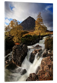 Cuadro de metacrilato  Scotland in Autumn - Buchaille Etive Mor - Martina Cross