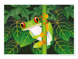 Kidz Collection - Hold on tight little frog!