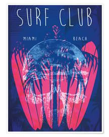 Surf Club Miami Grunge