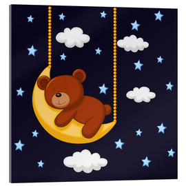 Metacrilato  Goodnight Teddy - Kidz Collection
