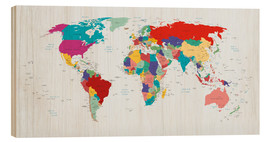 Madera  World Map - Country overview, updated 2003 - Kidz Collection