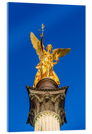 Cuadro de metacrilato  Angel of peace in Munich - Dieterich Fotografie