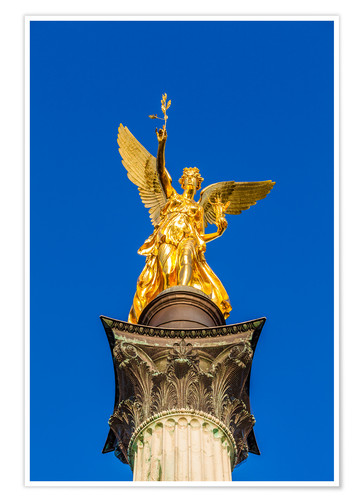 Póster Angel of peace in Munich