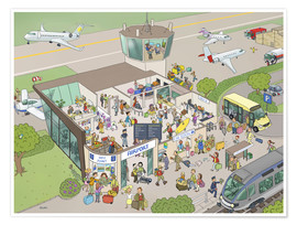 Póster airport