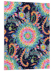 Cuadro de PVC  Color Celebration Mandala - Micklyn Le Feuvre