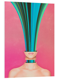 Cuadro de PVC  My Other Face Is A cactus - Adam Priester