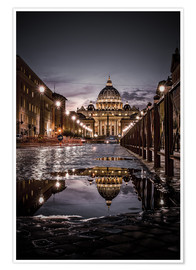 Póster St Peter's Basilica Rome