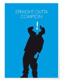 Póster N.W.A. - Straight Outta Compton