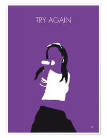 Póster Aaliyah - Try Again