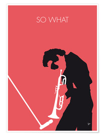 Póster  Miles Davis, So what - chungkong