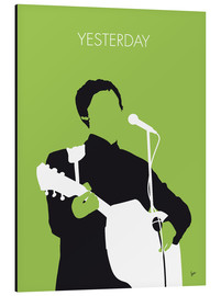 Aluminio-Dibond  MY PAUL MCCARTNEY Minimal Music poster - chungkong