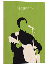 Cuadro de madera  MY PAUL MCCARTNEY Minimal Music poster - chungkong