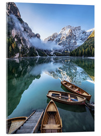 Metacrilato  Early morning on Lake Braies - Dolomite Alps Italy - Achim Thomae