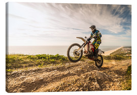 Lienzo  Coast trip with the Enduro