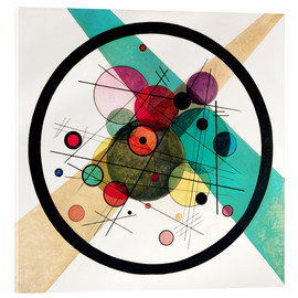 Wassily Kandinsky - Circles in a Circle